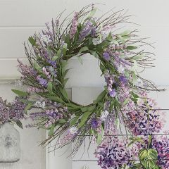 Lavender Tranquility Wreath