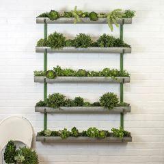 Metal Wall Planter Shelves
