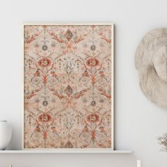 Old World Floral Decorator Paper