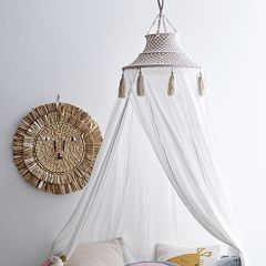 Macrame Bed Canopy