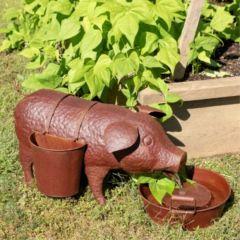 Pig Garden Fountain