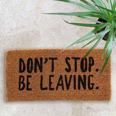 Be Leaving Doormat