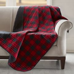 Reversible Buffalo Check Throw Blanket