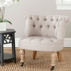 Button Tufted Chic Armchair