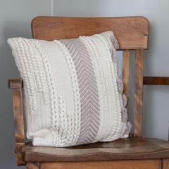 Textured Woven Accent Pillow