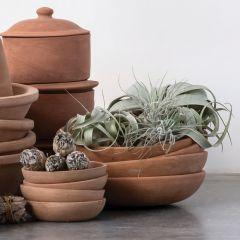 Simple Terracotta Bowl