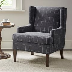 Simple Pattern Accent Armchair