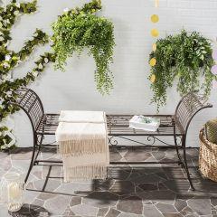 Classic Iron Garden Bench
