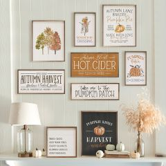 Fall Wall Art Collection