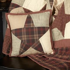 Country Star Quilted Pillow