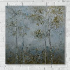 Tranquil Forest Canvas Wall Art
