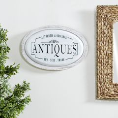 Antiques Oval Wall Art