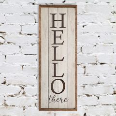 Hello There Wall Sign