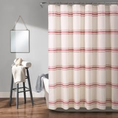 Striped Country Shower Curtain