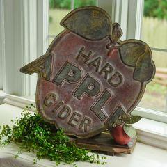 Hard Apple Cider Rustic Sign