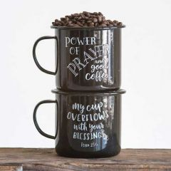 Prayer and Blessings Coffee Mugs Set of 2
