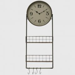 Wall Clock With Storage