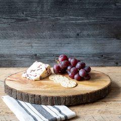 Log Slice Style Cutting Board