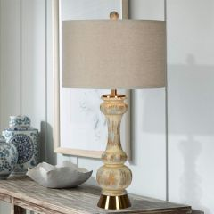 Weathered Classic Cottage Table Lamp