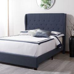 Upholstered Elegance Bed Full