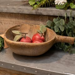 Aged Rustic Scoop Bowl