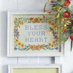 Bless Your Heart Framed Wall Art