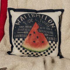Fresh Fruit Watermelon Pillow