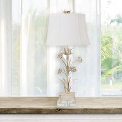 Floral Fancies Metal Table Lamp