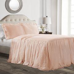 Chic Ruffle Bedspread Set
