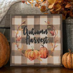 Autumn Harvest Decorative Sign