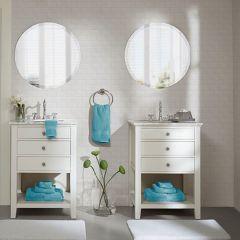 8 Piece Cotton Towel Set Aqua