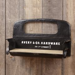Vintage Inspired Truck Seat Wall Shelf