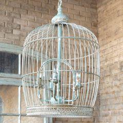Antique Style Bird Cage Chandelier