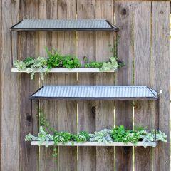 Shadow Box Wall Planter Shelf Set of 2