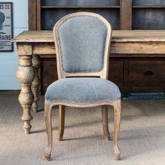 Rustic Elegance Capital Dining Chair