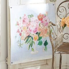 Blooming Floral Paper Wall Art