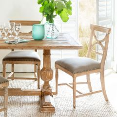 Elegant Elm Dining Chair Set of 2