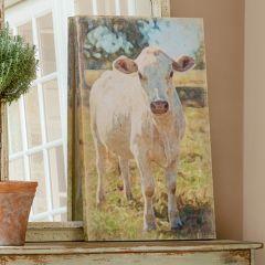 Farm Cow Canvas Print