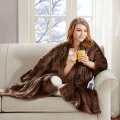 Heated Plush Blanket Wrap