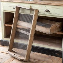 HUGE Wooden Nursery Tray With Wire Bottom
