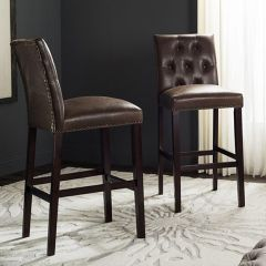 Tall Dark and Handsome Bar Stool Set of 2