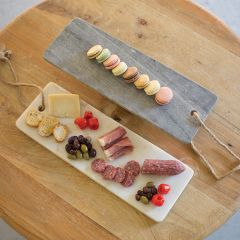 Rope Handled Marble Cutting Board