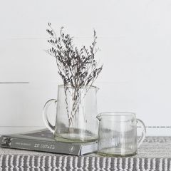 Simple Glass Pitcher