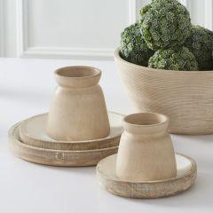 Minimalist Terracotta Pots Set of 2