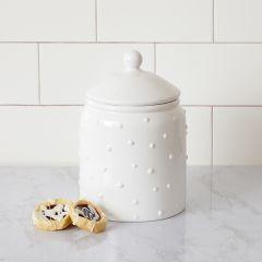 Simply Polka Dot Cookie Jar
