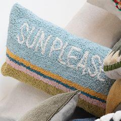 Sun Please Cotton Pillow