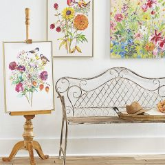 Natural Wood Art Easel Floor Stand