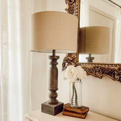 Primitive Cottage Table Lamp