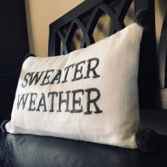 Sweater Weather Accent Pillow