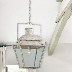 Metal Lantern Style Light